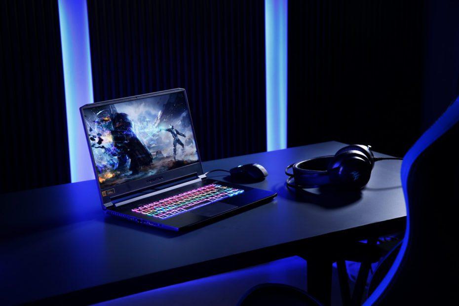 İnce ve hafif oyuncu dizüstü bilgisayarı Predator Triton500 Türkiye'de