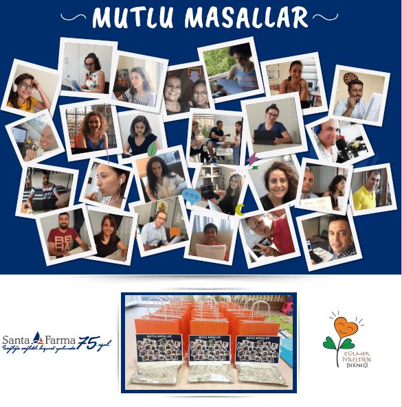 Santa Farma'dan kanserli çocuklar için masal projesi