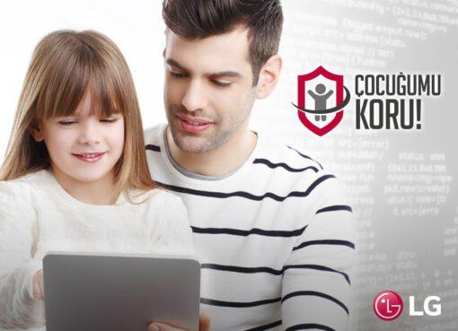 """""""LG Cocugumukoru.com"""" çağımızın sorununa dikkat çekiyor"""