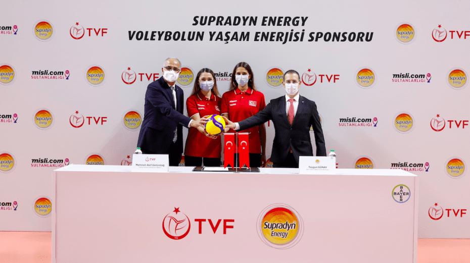 Supradyn Energy, filenin sultanlarına sponsor oldu
