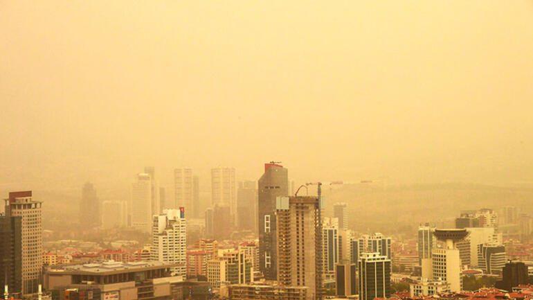 Kum fırtınası sağlık sorunlarına yol açabilir, dikkatli olunmalı