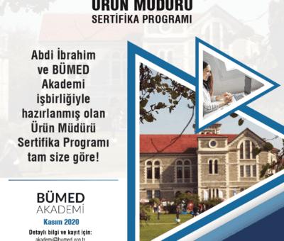 Abdi İbrahim ve BÜMED Akademi, ilaç endüstrisinde başarılı bir pazarlama kariyeri hedefleyen ve kendini bu doğrultuda geliştirmek isteyenler için 'Ürün Müdürü Sertifika Programı'nı hayata geçiriyor.