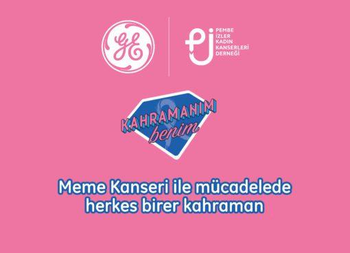 GE'den KahramanımBenim ile meme kanseri farkındalığı