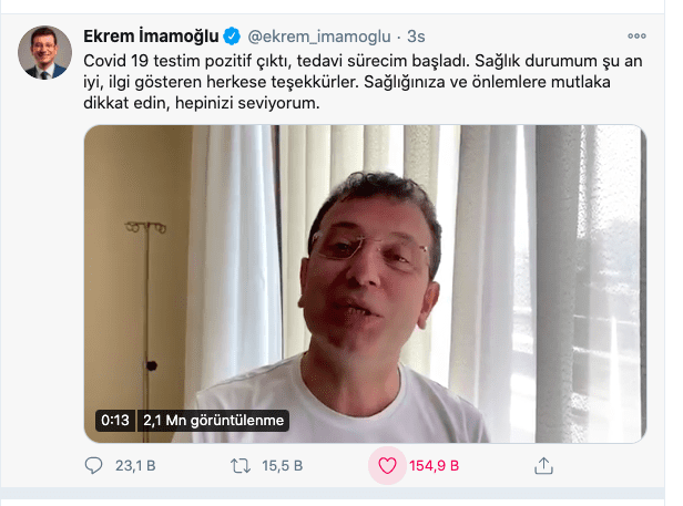 Ekrem İmamoğlu VKV Amerikan Hastanesi'nde!..