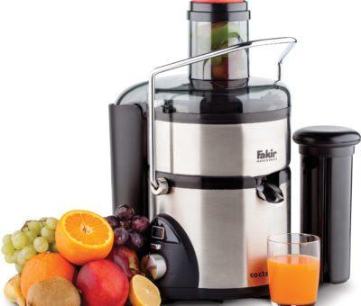 Fakir ile meyva suları ve sağlıklı karışımlar hazırlayın