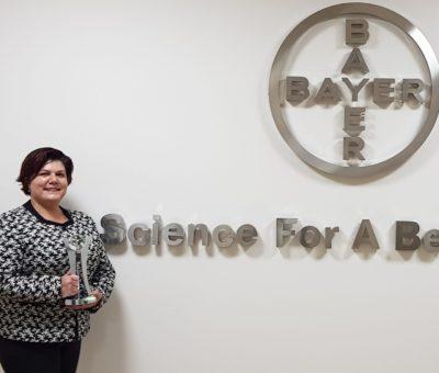 Bayer fabrikasına ödül!