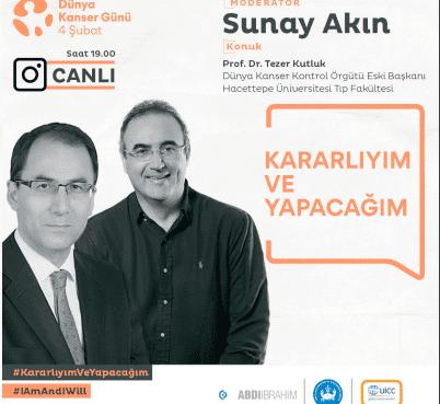 4 ŞUBAT Dünya Kanser Günü dolayısıyla Türk Kanser Araştırma ve Savaş Kurumu, resmi ve sivil her kuruma sesleniyor ve teşekkür ediyor...