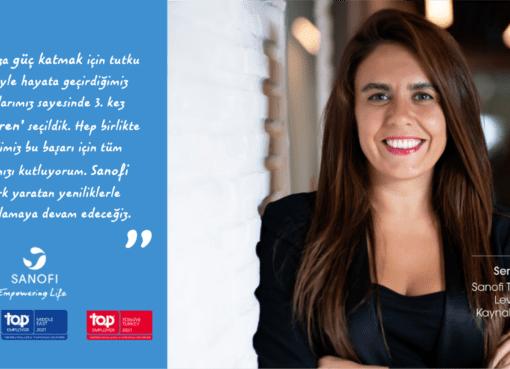 """Sanofi Türkiye, çeşitli alanlardaki yenilikçi ve başarılı İK uygulamaları ile """"En İyi İşveren"""" ödülünün sahibi oldu."""