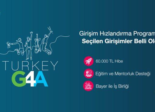Bayer'in küresel çapta yürüttüğü Girişim Hızlandırma Programı'nın Türkiye ayağı G4A Turkey 2021'e seçilen 7 girişim belli oldu...