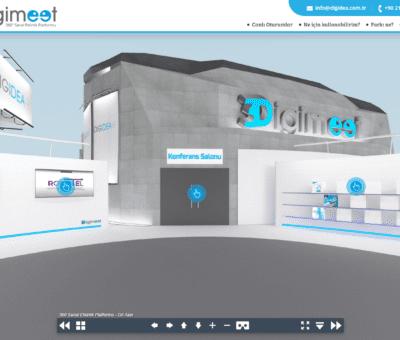 Pandemiyle birlikte doğan ihtiyaç üzerine çalışmalarını 3D bir modele odaklayan Digidea; oldukça kullanışlı ve basit ama bir o kadar da keyif veren ürünü 3Digimeet.com'u tüm şirketlerin hizmetine sunduğunu duyurdu.