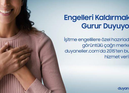 Samsung Türkiye, küresel kurumsal vatandaşlık vizyonu kapsamında hayata geçirdiği sosyal sorumluluk projeleri ile işitme engelli bireylerin de yanında yer alıyor.