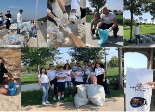 """""""Let's Do It"""" tarafından her yıl eylül ayının üçüncü cumartesi günü tüm dünya ile eş zamanlı düzenlenen çevre temizliği etkinliği bu yıl Türkiye'de 81 ilde 272 farklı noktada gerçekleşti. Takeda Türkiye çalışanları, Türkiye'nin farklı noktalarında gerçekleşen bu etkinliğin bir parçası oldu."""