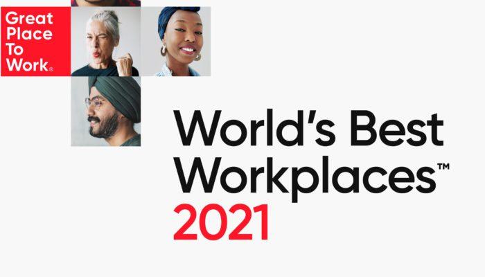 World's Best Workplaces™ listesinde yer alan 25 şirket, tüm dünyada sıra dışı çalışan deneyimi oluşturmalarıyla ön plana çıktılar. Bu şirketlerin diğer şirketlerin önüne geçmelerinin temelinde, sundukları eşsiz ve özel yan haklar ve mesleki gelişim odaklı güçlü eğitim olanaklarının yanı sıra çalışanlarına değer verip onları takdir etme konusunda gösterdikleri kararlı duruşları yatıyordu.